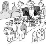 2015 billneigh black_and_white clothing crying digital_drawing_(artwork) digital_media_(artwork) earth_pony equine female feral group hi_res horn horse male mammal monochrome my_little_pony outside pegasus pony racism sign tears text unicorn unknown_character wings young  Rating: Safe Score: -1 User: ConsciousDonkey Date: May 01, 2016