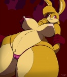 anthro big_breasts breasts camel_toe clothed clothing disembodied_hand female group half-dressed lagomorph mammal nipple_pinch nipples rabbit silhouette slypon solo_focus thick_thighs topless voluptuous wide_hips  Rating: Explicit Score: 41 User: beartraps Date: September 17, 2014