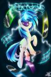 blue_hair cutie_mark equine eyewear female friendship_is_magic fur glasses hair horn jaaaaaaaz_(artist) mammal my_little_pony record solo teeth two_tone_hair unicorn vinyl_scratch_(mlp) white_fur   Rating: Safe  Score: 8  User: Nyteshade  Date: March 31, 2014