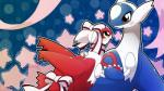 3_fingers blue_skin blush bow eye_contact female hm3526 latias latios legendary_pokémon male nintendo open_mouth pokémon red_eyes red_skin star stars video_games white_skin wings yellow_eyes   Rating: Safe  Score: 5  User: Finchmaster  Date: January 08, 2014