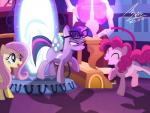 2015 blue_eyes bluse cutie_mark equine evil_look eyewear female fluttershy_(mlp) friendship_is_magic glasses glowing group hair horn horse machine mammal mechanical mirror my_little_pony pink_hair pinkie_pie_(mlp) pony portal purple_hair twilight_sparkle_(mlp) unicorn   Rating: Safe  Score: 11  User: 2DUK  Date: March 27, 2015