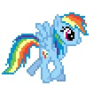 alpha_channel animated blue_feathers blue_fur desktop_ponies equine feathers female feral friendship_is_magic fur hair low_res mammal multicolored_hair my_little_pony pegasus rainbow_dash_(mlp) rainbow_fur rainbow_hair simple_background solo transparent_background unknown_artist wings  Rating: Safe Score: 1 User: Ohnine Date: July 29, 2011