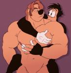 anthro canine disney dog duo goof_troop male male/male mammal max_goof muscles sarah-borrows  Rating: Questionable Score: 4 User: Pokelova Date: July 16, 2015