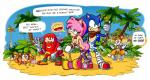 amy_rose anthro beach being_watched breasts butt cleavage clothed clothing cum cum_inside escopeto female group hammer knuckles_the_echidna leaning mammal miles_prower nude outside penetration seaside sex smiley sonic_(series) sonic_boom sonic_the_hedgehog sticks_the_jungle_badger text tools video_games   Rating: Explicit  Score: 17  User: Propio  Date: April 28, 2015