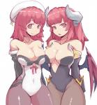 big_breasts breasts cleavage clothed clothing crossover demon demon_lord disgaea duo female hair horn human humanoid la_pucelle_ragnarok mammal not_furry pink_eyes pink_hair prier priere simple_background skimpy wings zakoryu  Rating: Safe Score: 10 User: Pasiphaë Date: June 21, 2015