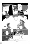 black_and_white chibineco clothing comic feline fur half_naked japanese_text lion male mammal monochrome raccoon text translation_request  Rating: Questionable Score: 1 User: AsoNgBayan Date: March 20, 2016