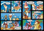 behindtg canine comic eeveelution female fire floatzel infernape jackal leafeon lopunny lucario male mammal nintendo pokémon raichu shiny_pokémon smile staryu sweat text video_games webcomic   Rating: Safe  Score: 7  User: UNBERIEVABRE!  Date: January 26, 2014