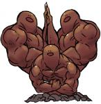 black_eyes brown_theme dugtrio ground group humor hyper macho male manly muscular nintendo pokémon pose sido_(slipknot) simple_background this_isnt_even_my_final_form video_games white_background  Rating: Safe Score: 49 User: AbominableToaster Date: May 03, 2014