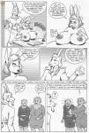anthro balls bear big_breasts breasts canine caprine clothing comic equine female goat karno lagomorph male mammal rabbit  Rating: Questionable Score: 2 User: Mcnair32 Date: October 11, 2015