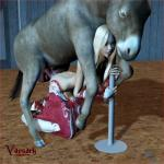 3d animal_genitalia balls barn bestiality blonde_hair breasts butt cowgirl donkey equine female feral hair horsecock human interspecies long_hair male mammal nude penetration penis pole sex spurs straight vaesark vaginal vaginal_penetration   Rating: Explicit  Score: 4  User: lilicalover  Date: April 11, 2014
