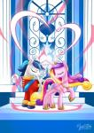 2015 duo equine female feral friendship_is_magic horn husband_and_wife male mammal my_little_pony mysticalpha princess_cadance_(mlp) shining_armor_(mlp) unicorn winged_unicorn wings   Rating: Safe  Score: 8  User: Robinebra  Date: March 19, 2015