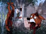 2013 anthro arrow blood bow_(weapon) canine dead death decapitation disembowelment disney execution fox fur gore grotesque_death guts hanging headless male mammal open_mouth orange_fur outside pac ranged_weapon robin_hood robin_hood_(disney) severed_head solo tongue torture tree weapon   Rating: Explicit  Score: 8  User: Mizugama  Date: October 31, 2013