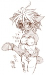 anthro blush breasts cat danae feline female legend_of_mana looking_at_viewer mammal mana_(series) monochrome nipples sketch solo takla video_games  Rating: Questionable Score: 0 User: DragonRanger Date: July 12, 2009