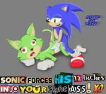 anthro breasts clothing digital_media_(artwork) duo english_text erection eyelashes female game_grumps gloves green_eyes hedgehog humor looking_at_viewer male mammal meme open_mouth penetration penis plurmp_dankenstein_mcflurnten_the_cat_esquire_(game_grumps) pussy sex simple_background smile sonic_(series) sonic_forces sonic_the_hedgehog text tongue unknown_artist video_gamesRating: ExplicitScore: 21User: PropioDate: December 11, 2017