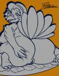 2017 anthro avian beak big_butt bird breasts butt digital_media_(artwork) feathers female food fur hair holidays jyto looking_at_viewer mammal nipples nude simple_background solo thanksgiving thick_thighs turkey wide_hipsRating: ExplicitScore: 8User: Jyto_YukumazaDate: November 24, 2017