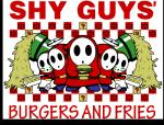 burger english_text fast_food five_guys flyguy food fries looking_at_viewer male mario_bros mask nintendo not_furry parody shyguy text unknown_artist video_games