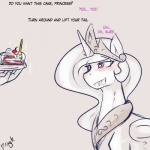 2015 blush cake dialogue dragk drooling duo english_text equine female feral food friendship_is_magic horn human imminent_sex male mammal my_little_pony princess_celestia_(mlp) saliva text winged_unicorn wings  Rating: Questionable Score: 6 User: Robinebra Date: August 31, 2015
