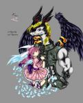 2009 animal_humanoid anthro bdsm black_feathers black_scales blonde_hair blue_eyes blue_feathers bondage bound chain clothed clothing crying dragon dress english_text feathers female grey_background hair humanoid lagomorph legendz linvar long_hair looking_at_viewer male mammal muscular piercing purple_eyes purple_hair ranshiin sad scales scalie scar simple_background size_difference tears text tigerlilylucky traditional_media_(artwork) white_scales wings  Rating: Safe Score: 0 User: GameManiac Date: September 29, 2015