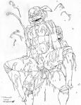 anal anal_penetration anthro balls big_penis cum cum_everywhere cumshot duo excessive_cum humanoid_penis incest jizz_cannon legs_up line_art male male/male mask messy mutant ninja open_mouth orgasm pen_(artwork) penetration penis pose reptile scales scalie spread_legs spreading teenage_mutant_ninja_turtles traditional_media_(artwork) trump turtle   Rating: Explicit  Score: 2  User: Pokelova  Date: November 20, 2014