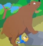 age_difference baby bear bestiality bow crying diaper duo female feral human human_on_feral interspecies loli maggie_simpson male male/female mammal penetration penis size_difference tears the_simpsons unknown_artist vaginal vaginal_penetration young   Rating: Explicit  Score: -5  User: Enkidu6  Date: May 06, 2014