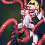 abdominal_bulge ahegao anthro anus areola black_scales blonde_hair breasts clitoris consentacles cum cum_in_mouth cum_inside cum_on_face drooling female fish green_background hair half-closed_eyes marine multicolored_scales navel nipples nude open_mouth penetration pussy saliva scales shark sharp_teeth simple_background smile solo spread_legs spreading teeth tentacles tongue tongue_out two_tone_scales tzulin vaginal vaginal_penetration white_scales  Rating: Explicit Score: 15 User: EmoCat Date: November 17, 2015