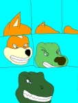 anthro canine comic fox fox_mccloud general_scales lust_penis male mammal ms_paint nintendo raver_roo solo star_fox transformation video_games  Rating: Safe Score: -1 User: Anomynous Date: May 01, 2008