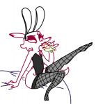 bed bunny_costume canine carrot clothing disney fake_ears female fishnet fishnet_legwear food fox legwear mammal mrs_wilde(weaver) suggestive the_weaver thigh_highs vegetable zootopia  Rating: Questionable Score: 4 User: ketchup-boot Date: April 29, 2016