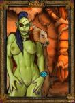 """2008 breasts ear_piercing eye_patch eyewear female humanoid not_furry nude orc piercing pussy scar shina_(artist) solo tusks video_games warcraft world_of_warcraft  Rating: Explicit Score: 2 User: suikodudeman Date: July 07, 2015"""""""