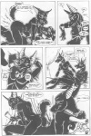 anthro anubian_jackal anubis_dark_desire canine comic egyptian female greyscale jackal knotting male mammal monochrome penetration sex straight stuck vaginal vaginal_penetration   Rating: Explicit  Score: 5  User: DoGgY  Date: December 10, 2009