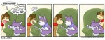 anthro canine cat collar comic dialogue dog edit english_text feline female flat_chested grape_jelly_(housepets!) housepets! male male/female mammal peanut_butter_(housepets!) penetration pillow rick_griffin shout smile sofa text webcomic   Rating: Questionable  Score: 26  User: ultima  Date: November 26, 2010