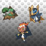 absurd_res avian bird chimchar empoleon feral grey_background group hi_res hybrid infernape mammal monkey nintendo penguin piplup pokefusionman pokémon primate reptile scalie simple_background torterra turtle turtwig video_games