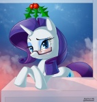 2012 blue_eyes blush cute cutie_mark equine eyewear female feral friendship_is_magic glasses hair holly_(plant) horn looking_at_viewer mammal my_little_pony plant purple_hair rarity_(mlp) skyline19 smile solo unicorn  Rating: Safe Score: 5 User: Robinebra Date: July 23, 2013