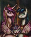 2016 big_wings clothing daughter equine father father_and_daughter female flurry_heart_(mlp) friendship_is_magic group horn jowybean male mammal mother mother_and_daughter my_little_pony parent princess_cadance_(mlp) shining_armor_(mlp) unicorn uniform winged_unicorn wings young  Rating: Safe Score: 3 User: 2DUK Date: February 01, 2016