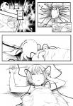 bestiality black_and_white blush comic cum eeveelution english_text espeon eudetenis female feral human interspecies machinery male male/female mammal manga monochrome nintendo pinheadchains pokémon shota sleeping sweat text translated video_games young   Rating: Explicit  Score: 6  User: DragonRanger  Date: December 23, 2014