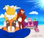2015 <3 <3_eyes amy_rose anthro anus badger balls canine echidna erection excito fellatio female fox group group_sex hedgehog knuckles_the_echidna male mammal masturbation miles_prower monotreme mustelid oral penetration penis pussy sex sonic_(series) sonic_boom sonic_the_hedgehog sticks_the_jungle_badger threesome  Rating: Explicit Score: 4 User: Robinebra Date: August 10, 2015