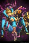anal blonde_hair blue_eyes bodysuit breasts claws clothing cum cum_in_ass cum_in_mouth cum_in_pussy cum_inside eye_roll female glowing hair hi_res katoki machine metroid multiple_anal nintendo oral ponytail pubes raised_arm restrained robot rocket_heels samus_aran skinsuit spread_legs spreading super_smash_bros tentacles tight_clothing torn_clothing video_games zero_suit  Rating: Explicit Score: 4 User: my_bad_english Date: February 02, 2016