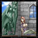 avian big_breasts bobbydando breasts comic dungeon elf female harpy hi_res humanoid penis_tail pussy tail_cock tentacles  Rating: Explicit Score: 2 User: h4x0r Date: March 17, 2015