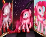 absurd_res blood blue_eyes cutie_mark detailed_background equine female feral friendship_is_magic hair hi_res horse insane long_hair mammal my_little_pony pink_hair pinkamena_(mlp) pinkie_pie_(mlp) pony smile solo vardastouch   Rating: Questionable  Score: 2  User: Falord  Date: August 19, 2012