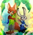 2016 anthro canine disney female fox judy_hopps lagomorph male mammal nick_wilde rabbit zootopia あほの  Rating: Safe Score: 0 User: Vallizo Date: May 06, 2016