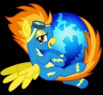 amber_eyes bodysuit clothing equine eyewear female feral firefox friendship_is_magic goggles hair internet mammal multicolored_hair my_little_pony parody pegasus skinsuit smile solo spitfire_(mlp) two_tone_hair tygerbug web_browser wings wonderbolts_(mlp)  Rating: Safe Score: 14 User: Robinebra Date: January 23, 2012