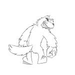 butt canine claws hair male mammal paws toes tongue tropicalsleet were werewolf wolf   Rating: Questionable  Score: 1  User: cole-nyaa  Date: March 11, 2013