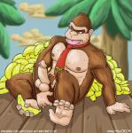anal anal_insertion anal_penetration anthro areola balls banana barefoot cum cum_on_penis donkey_kong donkey_kong_(series) donkey_kong_country english_text erection fingering food fruit gorilla insertion looking_down male mammal muscles navel necktie nintendo nipples nokemy nude omegaro on_floor open_mouth orgasm outside palm_tree pecs penetration penis precum primate pubes sitting solo sweat teeth text tongue tongue_out tree video_games   Rating: Explicit  Score: 1  User: Locus  Date: April 14, 2015