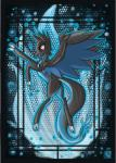 2014 ambiguous_gender black_fur black_skin blue_fur blue_skin butt charizard claws crossover digital_media_(artwork) equine feral fire fur horn horse mammal mega_charizard mega_charizard_x mega_evolution my_little_pony nintendo open_mouth pegasus pokémon pony raptor007 red_eyes solo tongue video_games wings   Rating: Safe  Score: 2  User: GameManiac  Date: March 26, 2015