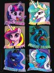 2015 candy changeling crown equine female feral friendship_is_magic horn karol_pawlinski licking lollipop magic mammal my_little_pony princess_cadance_(mlp) princess_celestia_(mlp) princess_luna_(mlp) queen queen_chrysalis_(mlp) royalty tongue tongue_out trixie_(mlp) twilight_sparkle_(mlp) unicorn   Rating: Safe  Score: 22  User: Robinebra  Date: March 16, 2015