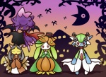 ambiguous_gender anthro bat black_hair canine clothing collar concave_(artist) cosplay crobat dress eyes_closed female flower fox gardevoir ghost green_hair hair halloween hat holidays humanoid japanese_clothing kimono looking_at_viewer lunatone magic_user mammal mawile mismagius moon nintendo open_mouth plant pokémon red_eyes robe smile spirit undead vampire video_games witch witch_hat zombie   Rating: Safe  Score: 3  User: DeltaFlame  Date: October 16, 2014