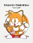 anthro balls blush canine cub didi_(artist) fox humiliation male mammal miles_prower penis shota small_penis small_penis_humiliation solo sonic_(series) young