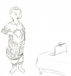 anthro balls barefoot black_and_white chubby circumcised clothing computer cub daniel_chung exposing flaccid front_view holding_penis humanoid_penis laptop line_art male mammal monochrome nervous open_mouth pangolin pants pants_down penis rourkie scales shirt shirt_lift shorts sketch solo standing table tail_wrap webcam young  Rating: Explicit Score: -1 User: Circeus Date: July 13, 2015