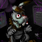 ambiguous_gender anthro blood bonnie_(fnaf) bunnelby creepy crossover five_nights_at_freddy's gore heterochromia lagomorph looking_at_viewer machine mammal nightmare_fuel nintendo open_mouth pink_nose pokemonfromhell pokémon rabbit robot solo teeth video_games  Rating: Safe Score: 7 User: ThatOnePorcupine Date: August 19, 2014