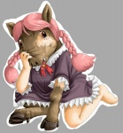 clothed clothing crying digitigrade edmol female hair hooves human humanoid_feet humanoid_hands mammal pig pink_hair plantigrade porcine rip runny_nose saliva tears transformation  Rating: Questionable Score: 1 User: PowaKobuTen Date: August 16, 2012