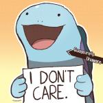 ambiguous_gender dragonith english_text feral nintendo open_mouth pokémon pokéshaming quagsire reaction_image sign simple_background smile solo text video_games